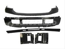For 2005-2007 F250 F350 Front Bumper Black BAR Upper Pad Valance Mount Plate 5P