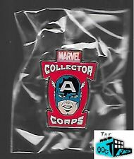 CAPTAIN AMERICA LAPEL PIN - Marvel Collector Corps - 4/15