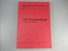 Der Zauberspiegel Jahrgang 1895/96 - Faksimile 1977 (60154)