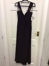 Koo Ture Fashion long Evening Dress Gown Black Size 8 BNWT