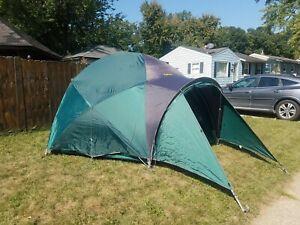 Cabelas Alaskan Guide Model #6 Person Geodesic Tent With Integrated Vestibule