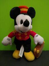 Disney Mickey Mouse Bellhop Contemporary Resort Plush Bean Bag 9'