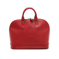 LOUIS VUITTON Alma epi handbag leather Castilian Red