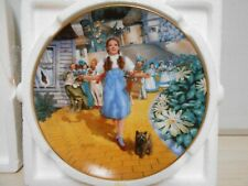 "Knowles New W/Packaging Wizard Of Oz Collector's Plate ""The Yellow Brick Road"""