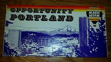 Vintage 1981 Opportunity Portland Angles & Lines Radio Station Ameri-Game