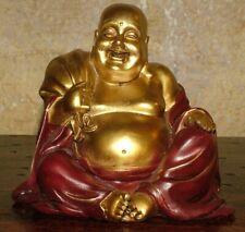 STATUA ARREDO BUDDHA BUDDA FORTUNA PROTEZIONE AMULETO INDIA ETNICO MEDITAZIONE Oriental/Indio/Tibetano Arte étnico/Artesanía de mundo