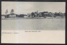 Postcard BRANFORD CT  Indian Neck Shoreline Cottages Houses/Homes 1906