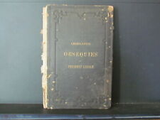 1865 President Abraham Lincoln memorial book with 10th Regiment presentation
