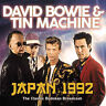 David Bowie & Tin Machine : Japan 1992 CD (2018) ***NEW*** Fast and FREE P & P