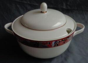 HUTSCHENREUTHER CAMARO LEONARD PARIS dekschaal H17xO20cm soep Terrine soup bowl