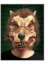 Wolfman Werewolf Latex Mask Halloween Horror Fancy Dress Mask
