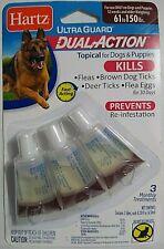 Hartz UltraGuard Topical Flea & Tick Prevention Drops Dogs & Puppies 61-150lbs
