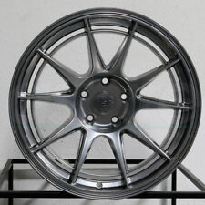 "4-New 19"" ESR SR13 Wheels 19x9.5 5x114.3 22 Hyper Black Rims"