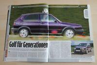 Auto Bild Klassik 1750) VW Golf II 1.8 Fire and Ice mit 90PS in einer seltenen
