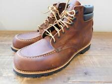 "Red Wing for JCrew 6"" Classic Moc Toe Boots Brown Size 8.5 e1349 $310"