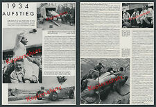 Auto Union Racing Car Silver Arrows Hans Stuck GP Nürburgring Zwickau Porsche 1934