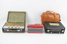 More details for 3 x vintage portable transistor radios inc. roberts rfm3, hacker rp30, pye