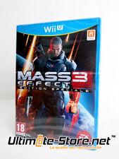 Jeu WiiU - Nintendo Wii U - MASS EFFECT 3 Edition Spéciale - FRA - Neuf Blister