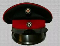 New Reproduction WW1 German officer Hat Cap High Quality Hand Made All Sizes