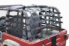 Fits Jeep Wrangler LJ TJ Black  Cargo Net   Made in USA J0046110