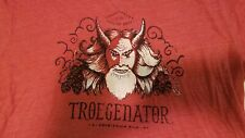 Troegs Brewing Troegenator t shirt Xxl 2Xl tee beer brewery red mad elf