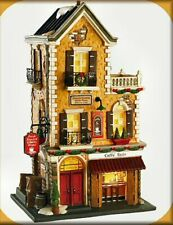 """Department 56 Christmas In The City 59253 """"Caffe Tazio"""" Display Anywhere Htf"""