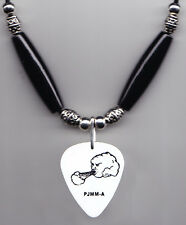 Pearl Jam Mike McCready Cloud Guitar Pick Necklace - 2013 Lightning Tour