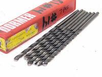 "Stub .2040/"" 12 Pieces HSS Screw Machine - USA Length Drill - #6"