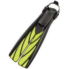 Atomic Aquatics Split Fin medium scuba diving equipment christmas GIFT yellow