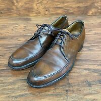 Wright Arch Preserver Men's Oxford Leather Shoes 10.5 AA Brown
