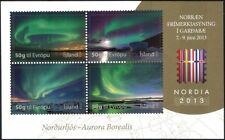 Iceland 2013 Polar Aurora/Space/Meteorology/Astronomy/StampEx 4v m/s (is1010)