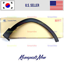 Front Fender Wheel Molding Right PASSENGER ⭐GENUINE⭐ Hyundai Santa Fe 2019-2020