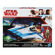 STAR WARS Resistance A-Wing Fighter with Pilot Tallie - Force Link 2.0