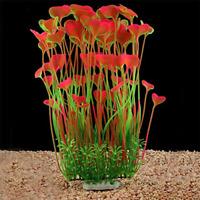 Large Aquarium Plants Artificial Fish Tank Decoration Ornament Safe for All US