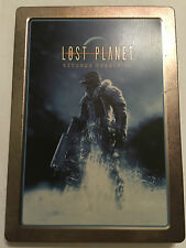 XBOX 360 GAME LOST PLANET EXTREME CONDITION STEELBOOK TIN CASE EDITION Inc' DLC