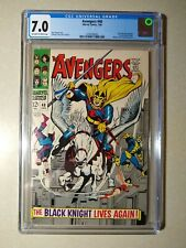 AVENGERS #48 CGC 7.0 1st Appearance BLACK KNIGHT Marvel 1968