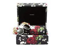 $5000 RARE New DOLCE GABBANA MAMAS BROCADE Flowers Sunglasses DG 4275H 1574/87