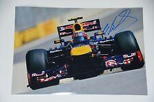 Mark Webber signed 20x30cm  Foto , Autogramm / Autograph in Person .