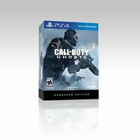 Call Of Duty: Ghosts (Hardened Edition) - FPS Action Combat Shooter PS4 NEW