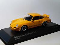 Porsche 911 Carrera RS 2.7 de 1972 au 1/43 de Minichamps