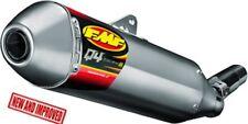 FMF Q4 Spark Arrestor Slip-on Muffler Stainless Steel Fits 2013 Honda Crf230l