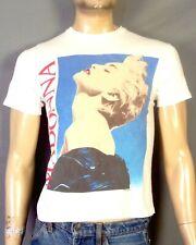 vtg 80s RARE single stitch Thin 1986 Madonna True Blue T-Shirt Tour Concert S/M