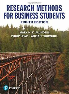 Research Methods for Business Students Paperback