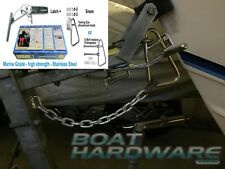 Fibreglass Boat Latch Catch up to 6.5m Launch Retrieve Trailer Buddy *SEE VIDEO*