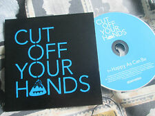 Cut Off Your Hands  Happy As Can Be  679 Recordings PR01720 Promo UK CD Single