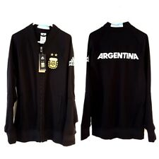 Argentina BNWT Jacket Coat. Small Adults. Adidas. Black Long Sleeves Football S.