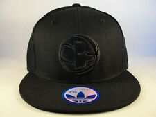 Brooklyn Nets NBA Adidas Fitted Hat Cap Size 7 3/4 Black