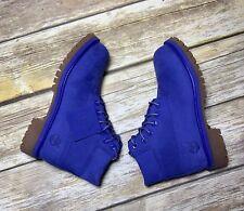 Timberland 6 Inch Premium Waterproof Little Kids Preschool Boots Blue Size 13