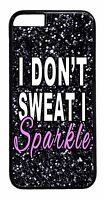 Cute Funny Gym Fitness Girl Quote Case Cover For iPhone 6 6s Plus 5 5s 5c 4s