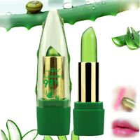 Aloe Vera Makeup Jelly Long Lasting Lipstick Waterproof Cosmetics Change Color